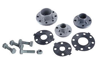 Flange,Packing and Screw